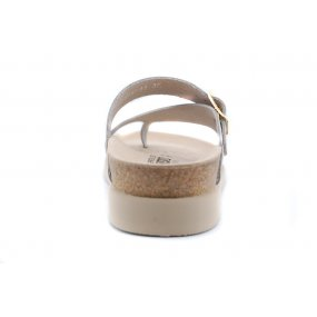 Helen teenslipper beige metallic