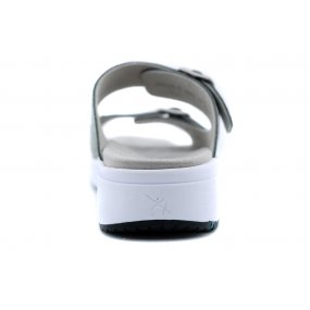 Gili H slipper gespen sali metallic
