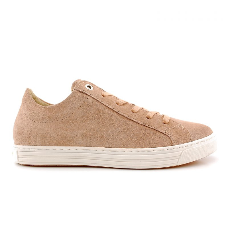 A4244 sneaker laag rose suede