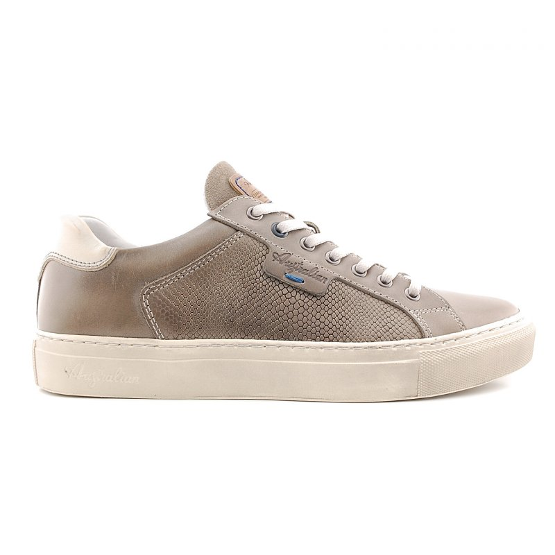 15.1238.01Sneaker Saunders light grey print