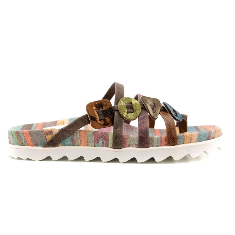 80392-46 teen slipper multi