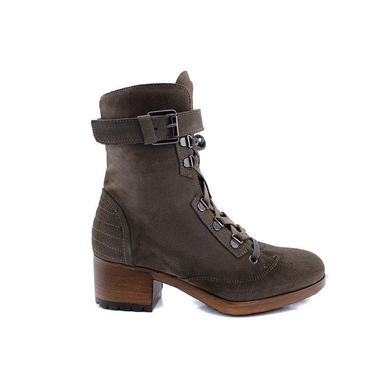 172103 boot lage hak taupe suede