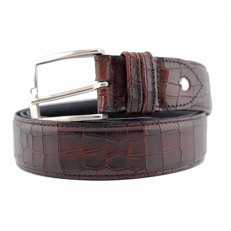 008 Riem bordo croco print