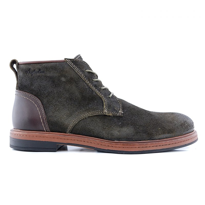 Oakwood 15.1285.02 boot groen suede
