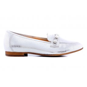 61711 moccasin parel zilver