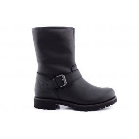 Igloo B25 boot gesp zwart leer