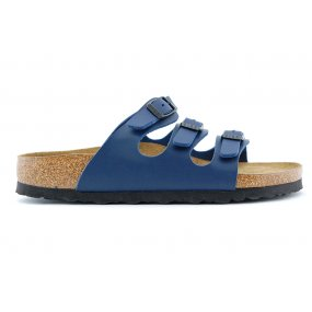 Florida slipper softvoetbed blauw