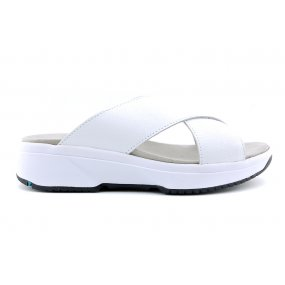 Medan H Stretchwalker slipper white lak