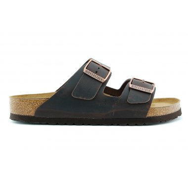 Arizona 051791 slipper softvoebed cognac leer