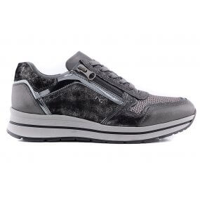 806415 sneaker metallic rits div materialen