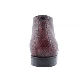 46928 boot gekleed bordo combi nubuckprint