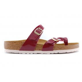 Mayari teenslipper softvoetbed bordo