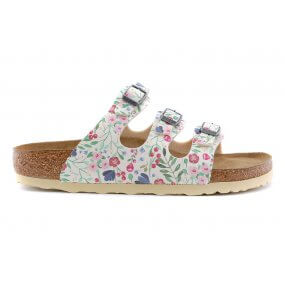 Florida slipper softvoetbed multi bloemen