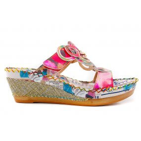 beatrice 13 slipper sleehak multi