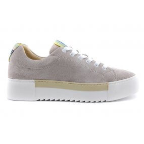 FARO sneaker taupe suede veter